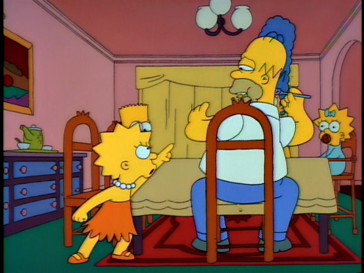 I just noticed a great bit of sound direction on The Simpsons. In the famous early episode u201cLisau0027s Substituteu201d Lisa loses her temper at Homer ... & The Timing of a Door Slam on The Simpsons | Yash Parghi pezcame.com